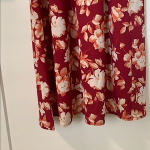 Mimi Chica Dresses - Mimi Chica ❤️ Cold Shoulder Asymmetric Maxi Dress